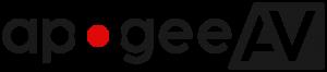 APOGEE AV LTD.  |  Sound  |  Lighting  |  Consultancy  |  Sales  |  Supply  |  Installations  |  Carterton  |  Oxford  |  Oxfordshire  |  UK Logo